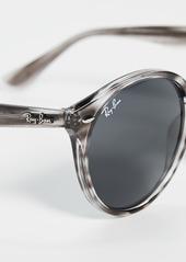 Ray-Ban Highstreet Round Phantos Sunglasses