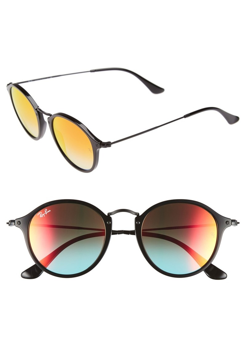 Ray-Ban Icons 49mm Round Sunglasses