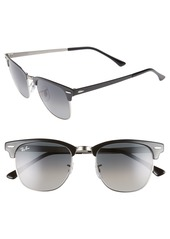 Ray-Ban Icons 51mm Browline Sunglasses