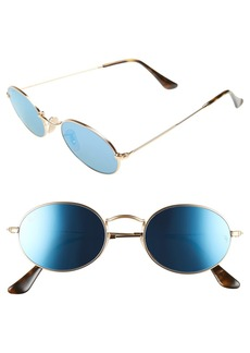 Ray-Ban Icons 51mm Round Sunglasses