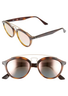 Ray-Ban Icons 53mm Retro Sunglasses