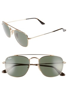 Ray-Ban Icons 54mm Aviator Sunglasses