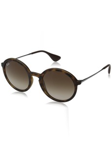 Ray-Ban Injected Man Sunglasses -  Frame Gradient Brown Lenses 50mm Non-Polarized