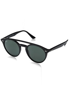 Ray-Ban Injected Unisex Sunglass Round  51.2 mm