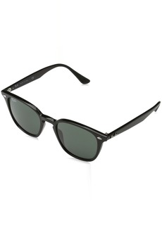 Ray-Ban Injected Unisex Sunglass Square  50 mm