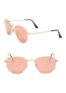 Ray-Ban Irregular Metal Sunglasses
