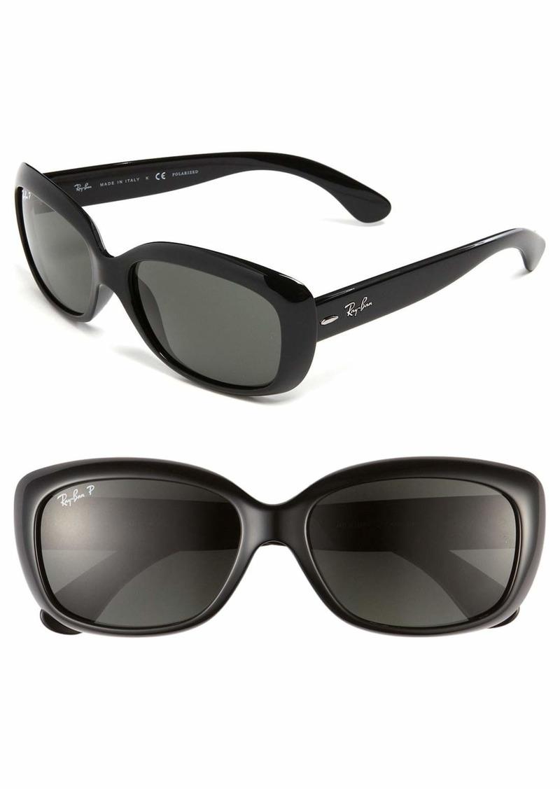 Ray-Ban 'Jackie Ohh' Polarized 58mm Sunglasses