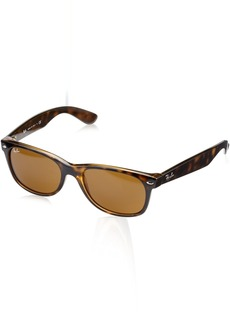 Ray-Ban Ray Ban Jr. New Wayfarer Sunglasses 55mm Shiny Avana Frame  Lens