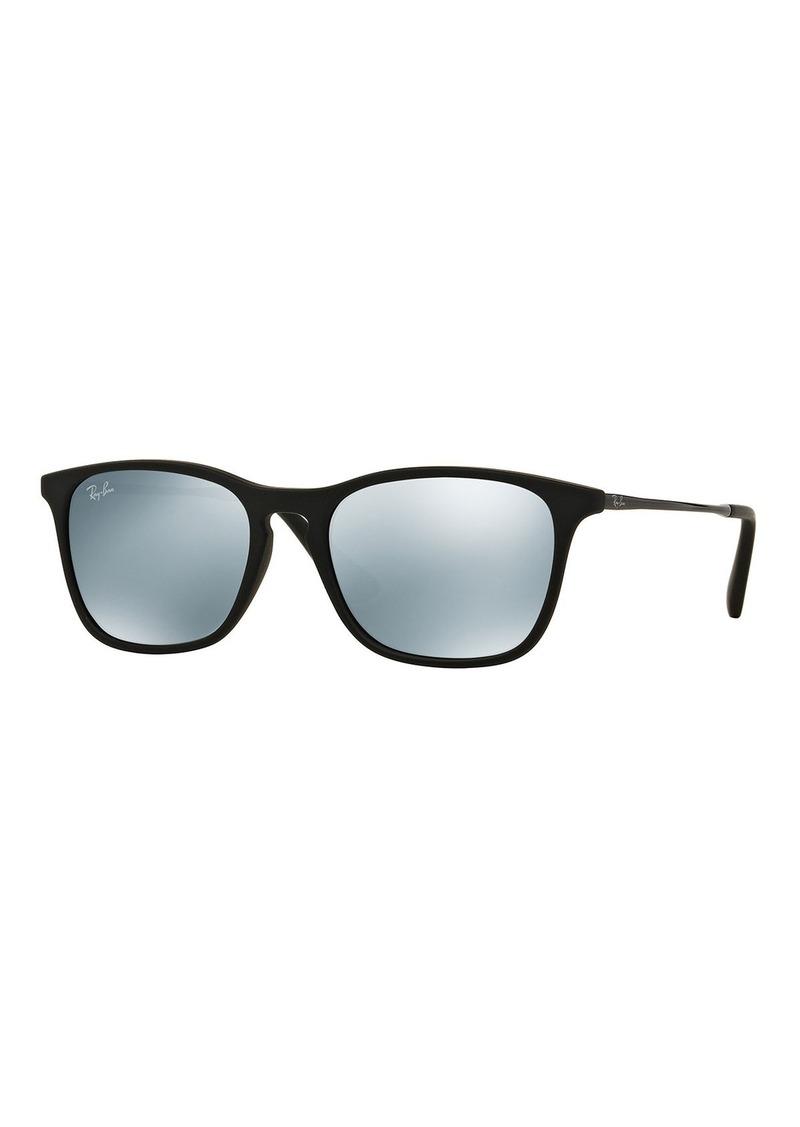 Ray-Ban Junior Junior Mirrored Wayfarer Sunglasses