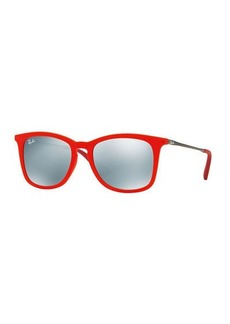 Ray-Ban Junior Mirrored Wayfarer Sunglasses