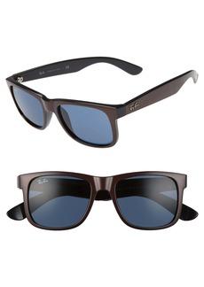 Ray-Ban Justin 51mm Flat Top Sunglasses