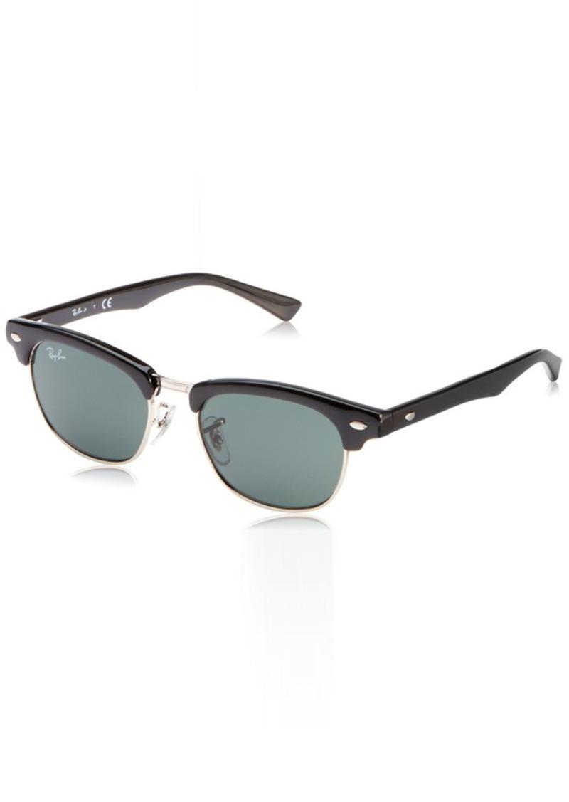 Ray-Ban Junior unisex-child RJ9050S Clubmaster Kids Square Sunglasses