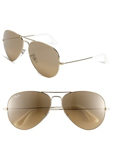Ray-Ban Original 62mm Oversize Aviator Sunglasses