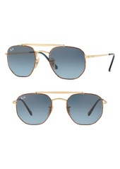 Ray-Ban Marshall 51mm Aviator Sunglasses
