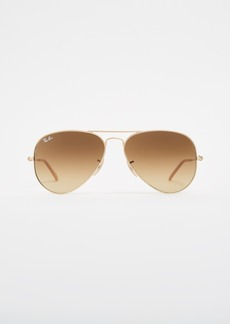 Ray-Ban Matte Classic Aviator Sunglasses