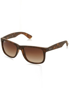 Ray-Ban Justin RB4165 Sunglasses-710/13 /Brown Gradient-55mm