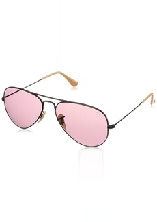 Ray-Ban Men's Aviator Large Metal Sunglasses  54.5 mm