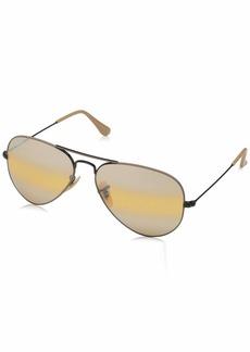 Ray-Ban Men's Classic Aviator Sunglasses  57.5 mm