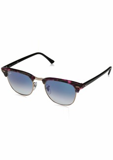 Ray-Ban Men's Clubmaster Square Sunglasses  59.2 mm