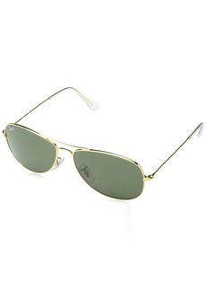 Ray-Ban Men's Cockpit Aviator Sunglasses ARISTA