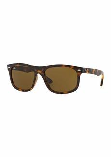 Ray-Ban Men's Flat-Top Plastic Sunglasses