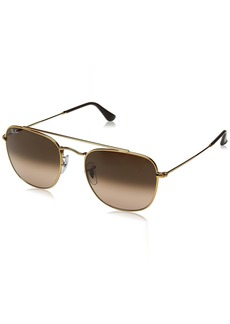 Ray-Ban Men's Metal Man Square Sunglasses  54 mm