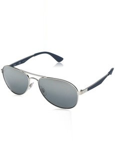 Ray-Ban Men's Metal Man Sunglass Aviator