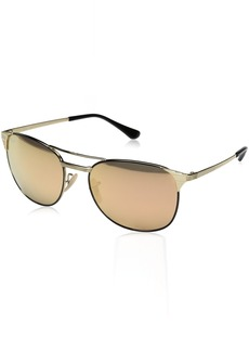 Ray-Ban Men's Metal Man Sunglass Square