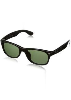 Ray-Ban Men's New Wayfarer (f) Square Sunglasses  52.0 mm