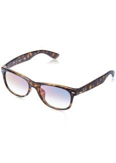 Ray-Ban Men's New Wayfarer (f) Square Sunglasses HAVANA