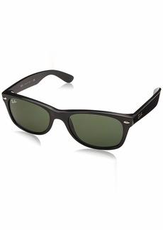 Ray-Ban Men's New Wayfarer Square Sunglasses  55 mm