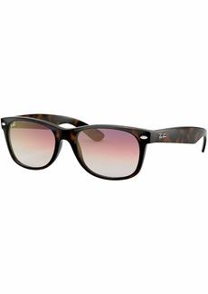 Ray-Ban Men's New Wayfarer Square Sunglasses HAVANA