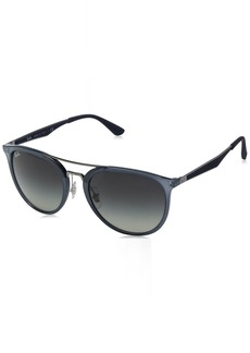 Ray-Ban Men's Plastic Man Square Sunglasses