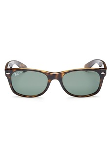 Ray-Ban Unisex New Wayfarer Polarized Sunglasses, 52mm