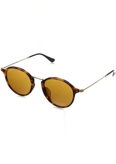 Ray-Ban Men's Rb2447f Round Sunglasses