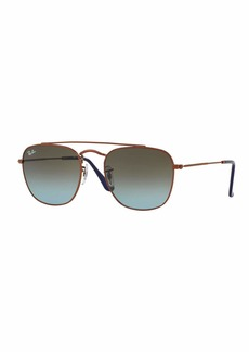 Ray-Ban Men's Square Double-Bridge Sunglasses
