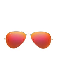 Ray-Ban Metal Flash Lense Aviator