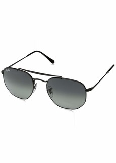 Ray-Ban Metal Unisex Square Sunglasses