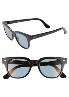 Ray-Ban Meteor 50mm Polarized Wayfarer Sunglasses