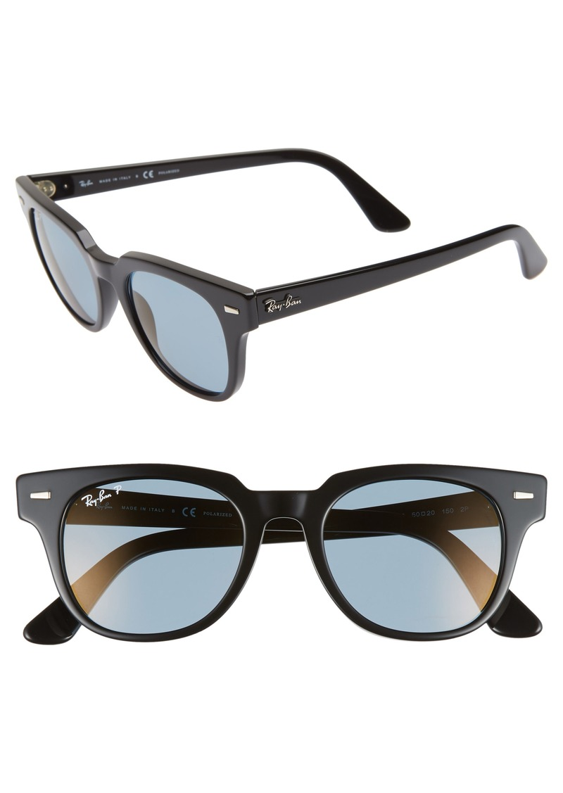 ecef787d2c5 Ray-Ban Ray-Ban Meteor 50mm Polarized Wayfarer Sunglasses