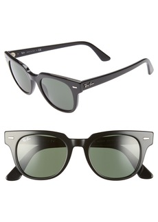 Ray-Ban Meteor 50mm Wayfarer Sunglasses