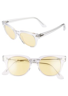 Ray-Ban Meteor Evolve Wayfarer 50mm Tinted Sunglasses