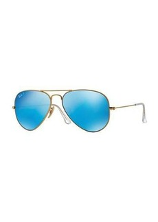 Ray-Ban Mirror Aviator Sunglasses