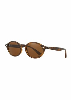 Ray-Ban Monochromatic Oval Sunglasses