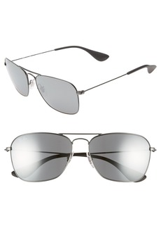 Ray-Ban Navigator 58mm Squared Sunglasses