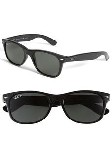 Ray-Ban 'New Small Wayfarer' 55mm Polarized Sunglasses