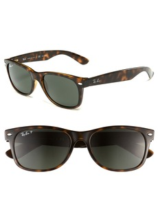 Ray-Ban 'New Small Wayfarer' 55mm Polarized Sunglasses