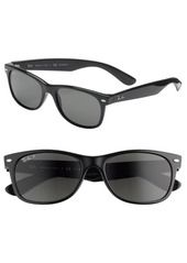 Ray-Ban 'New Wayfarer' 55mm Polarized Sunglasses