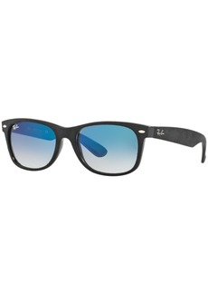 Ray-Ban New Wayfarer Gradient Sunglasses, RB2132 58