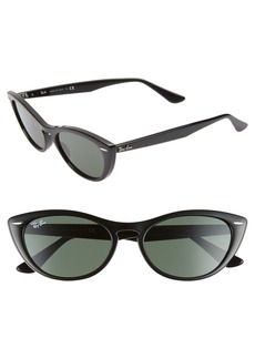 Ray-Ban Nina 54mm Cat Eye Sunglasses
